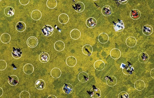 Boterhammen in de bubbel