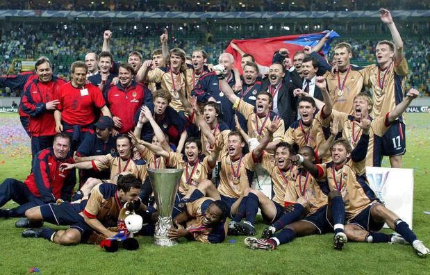 Flashback naar 18 mei 2005: Roman Abramovitsj wint zijn eerste Europese cup met ... CKSA Moskou