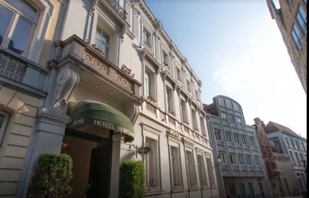 Brugs luxehotel Heritage sluit tijdelijk de deuren