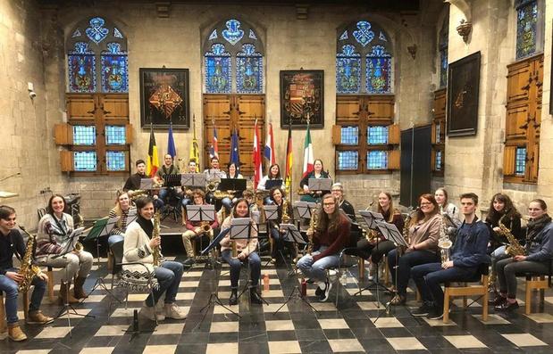Saxofoon en liefde centraal in Tieltse Europahal