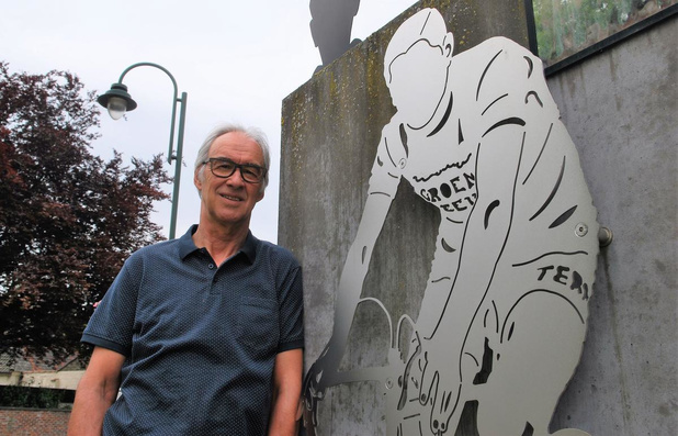 """Marc Devlieger vergeet ex-wielerkampioen Frans De Mulder nooit: """"Voor altijd een legende"""""""
