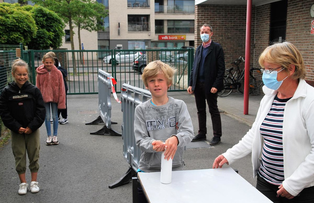Vrije basisschool Zulte vindt het geen verloren schooljaar