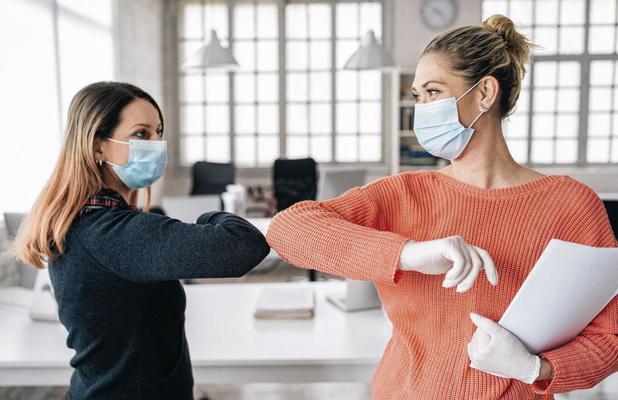 Chirurgische maskers boven