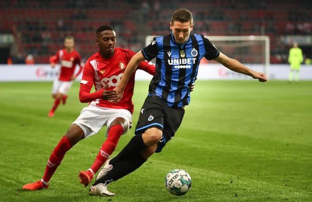 Club Brugge speelt 1-1 gelijk tegen Standard