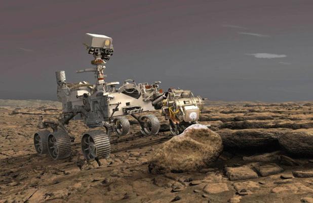 Perseverance s'est posé sur Mars