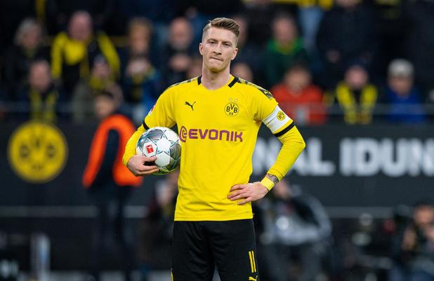 Aanvoerder Marco Reus zorgt voor relletje bij Dortmund