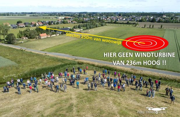 Buurtbewoners halen slag thuis: geen windmolens aan Vagevuurwijk