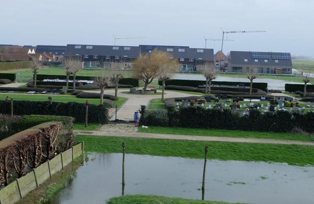 Opnieuw wateroverlast in Sluis- en Tuinwijk in Middelkerke
