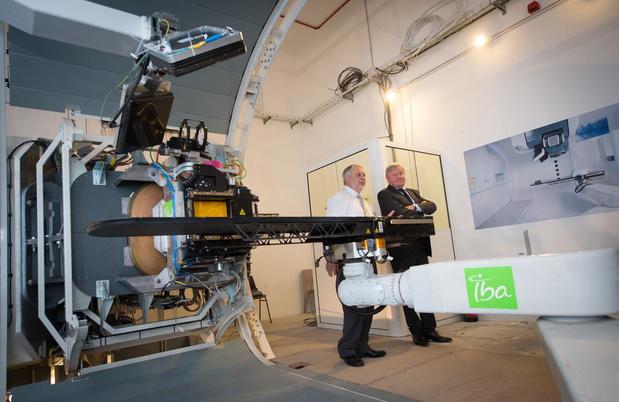 Le premier centre de protonthérapie de Belgique a démarré ses traitements contre le cancer