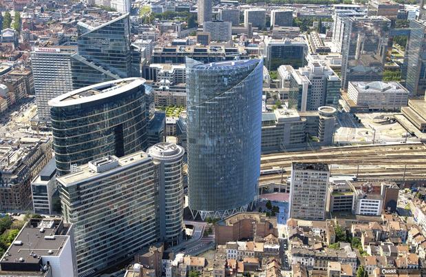 Rendement record obtenu par Ghelamco pour la vente de la Silver Tower à Bruxelles
