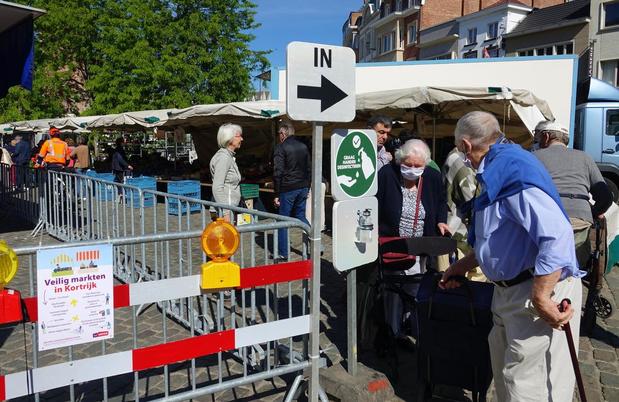 Soepele start voor de eerste markt van Vlaanderen