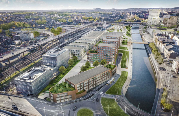 Le Port autonome de Charleroi espère la création de 500 emplois