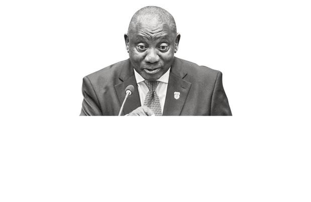 Cyril Ramaphosa - Verkoopt vaccins