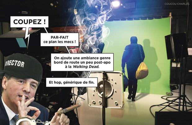 La caricature de Coucou Charles: un film de Stéphane Moreau