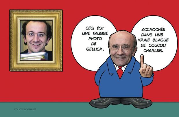 La caricature de Coucou Charles: Charles, un artiste qui s'ignore