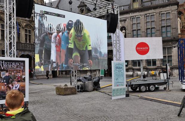 Veurne maakt zich klaar voor de doortocht van de AG Driedaagse Brugge-De Panne