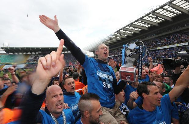 Flashback naar 15 mei 2016: Club Brugge wint met 4-0 van Anderlecht en is kampioen