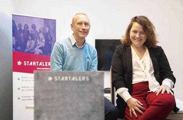 Thierry Smets et Gaëlle Haag, de la gestion de fortune à la banque 4.0