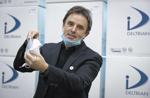 Des masques 100% wallons, une solution locale face au coronavirus
