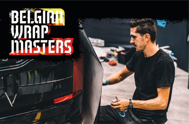 Fespa Belgique organise le premier Championnat de Belgique de Carwrapping