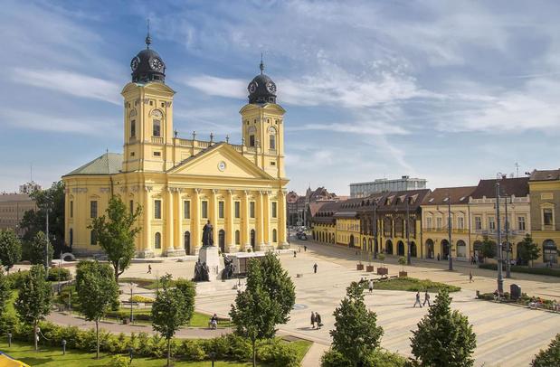 Debrecen in Hongarije