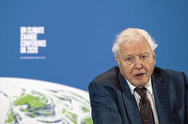 De documentairemaker David Attenborough reageert op de slotverklaring van de G7