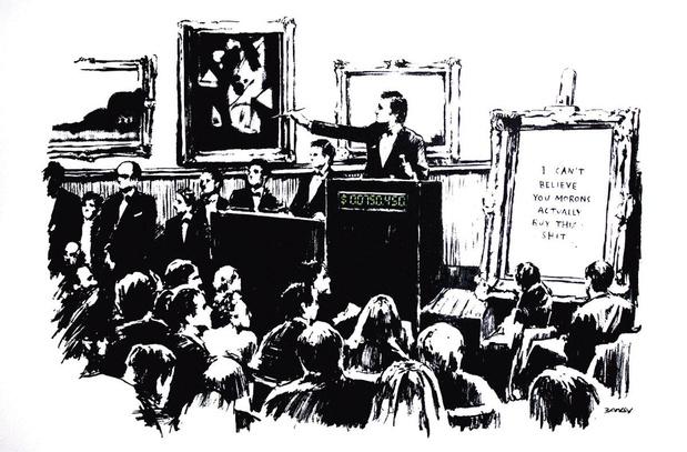 Valse Banksy-NFT verkocht voor 244.000 pond