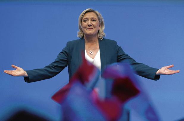 """Un tiers des Français juge que Marine Le Pen """"ferait une bonne présidente de la République"""""""