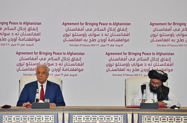 VS en taliban ondertekenen akkoord voor einde aan oorlog in Afghanistan
