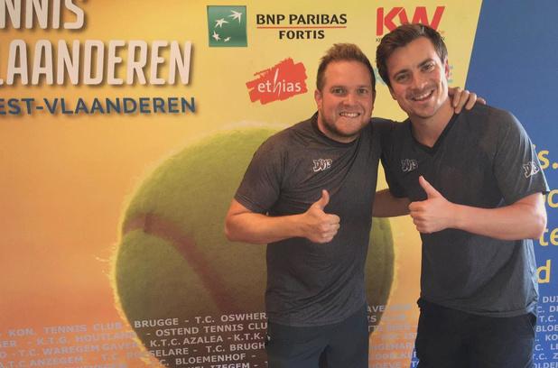 Niels Destadsbader wint op Gewestelijke Masters tennis