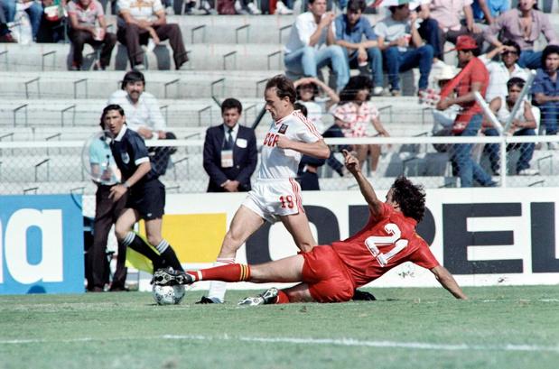 Kippenvelmatch #3: België - Sovjet-Unie 4-3