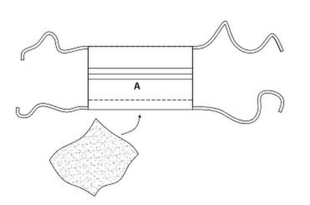 La Maison Victor ontwerpt patroon voor een mondmasker