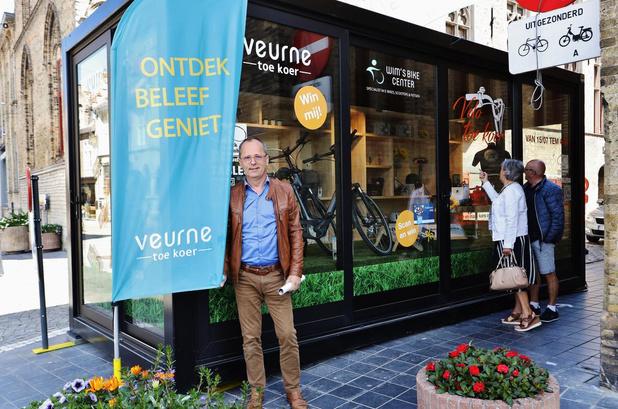 Velo Toe Koer-actie promoot lokaal shoppen in Veurne met royale prijzenpot