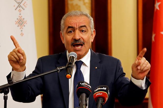 Palestijnse Autoriteit keurt Israëlische 'annexatieregering' af