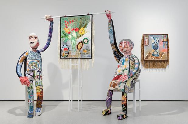 """Klaas Rommelaere: """"Ik wil vooral verhalen vertellen via borduurwerk"""""""