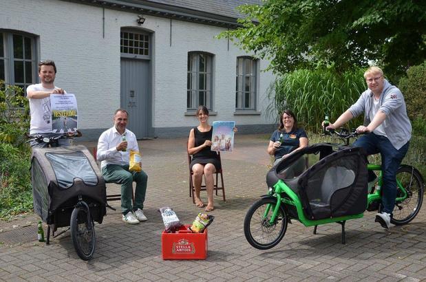 Pop-upcinema in openlucht tijdens Kuurne Zomert