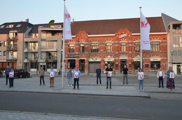 26 vlaggen in Kuurne als teken van dankbaarheid