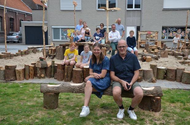 Gekapte bomen Vlaspark en pastorie krijgen tweede leven als pop-upspeeldorp