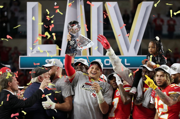 Kansas City Chiefs winnaar Super Bowl