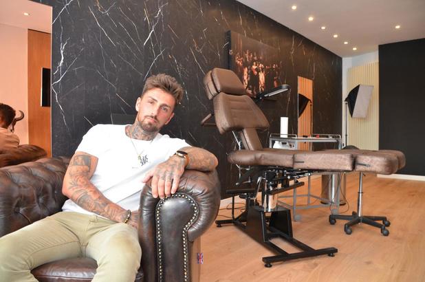 Harelbekenaar Nicolas Cauliez opent nieuwe tattooshop in Kuurne