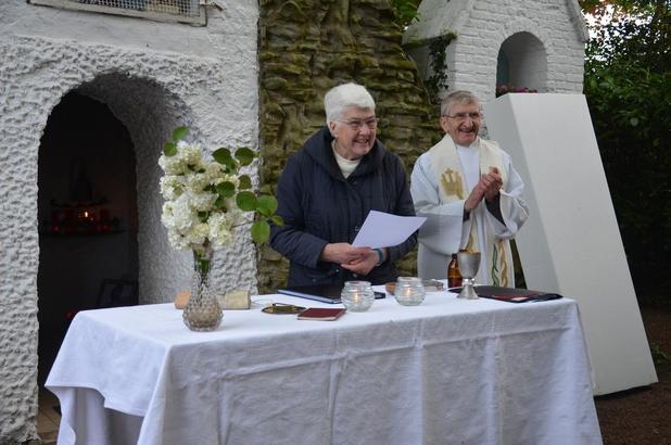 Dit jaar geen Lourdestrekking aan Macieberggrot in Oostkamp