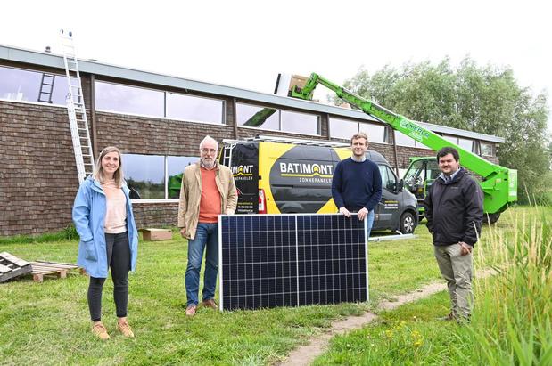 Koksijde breidt aantal zonnepanelen uit met 64 stuks op Bollodroom