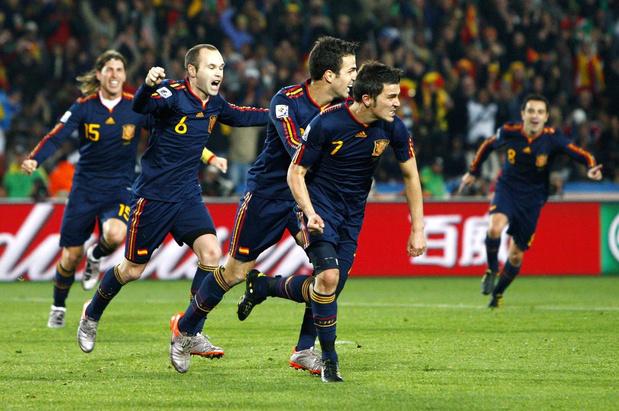 Waarom Spanje heimwee heeft naar 2010