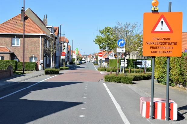 Eenrichtingsverkeer Grotestraat verandert van rijrichting