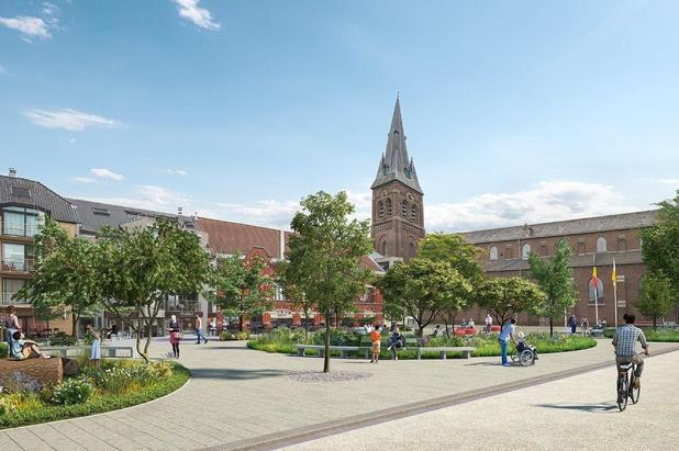 Zo zal het vernieuwde centrum van Kuurne er uitzien: Meer leefbaarheid, bereikbaarheid en groen