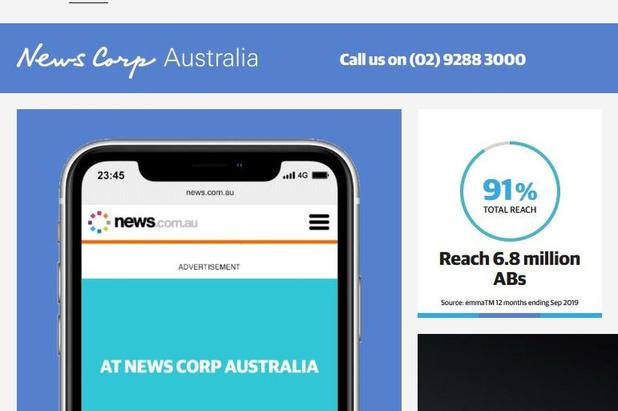 News Corp suspend l'impression de 60 journaux australiens pour cause de Covid-19