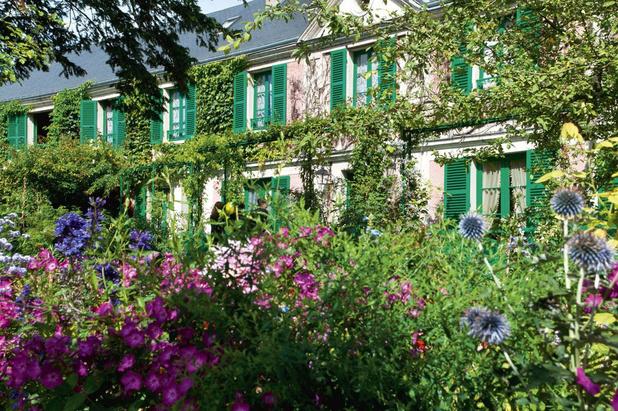 Dans le jardin de Monet