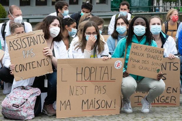 Grève des Macs: incompréhension des hôpitaux académiques francophones