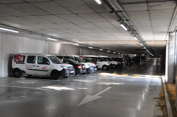 Antsliplaag moet valpartijen in parking Zuiderpromenade verhinderen