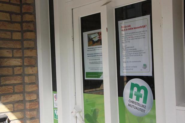 CM-kantoren regio Oostende-Veurne-Diksmuide sluiten de deuren